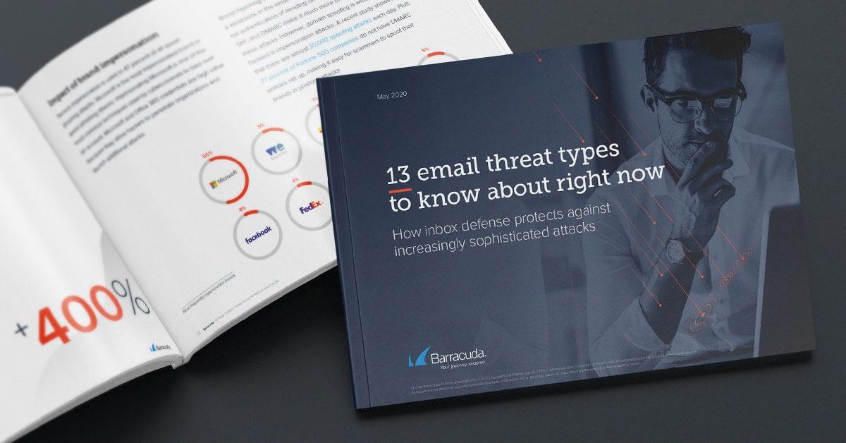今すぐ知る必要がある13タイプのメール攻撃 のページ写真 1