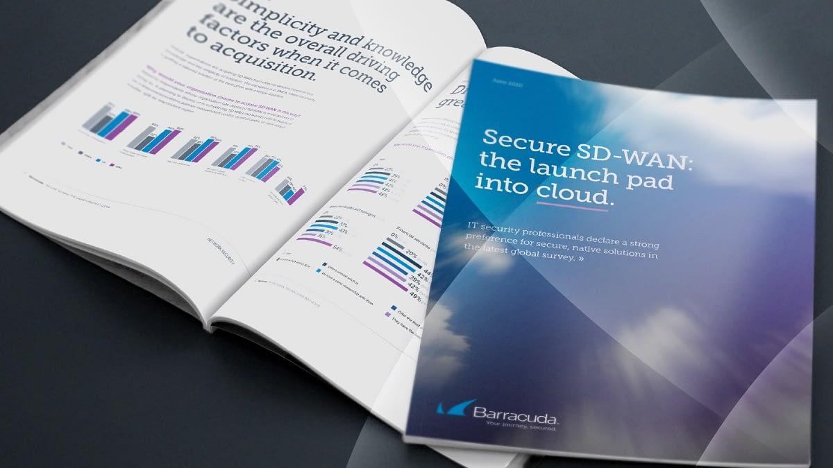 レポート: セキュアなSD-WAN(Software Defined Wide Area Network): クラウドへの出発点 のページ写真 1