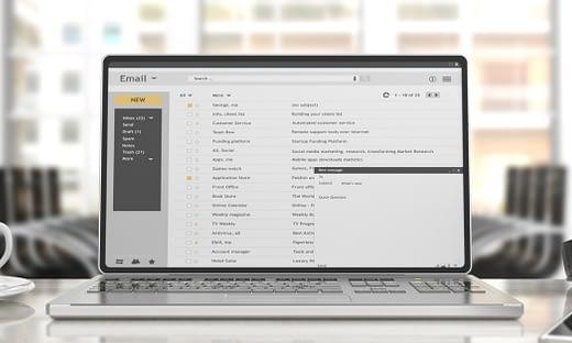 個人のメールアカウントを使用するビジネス上のリスク【メールセキュリティ】 のページ写真 3