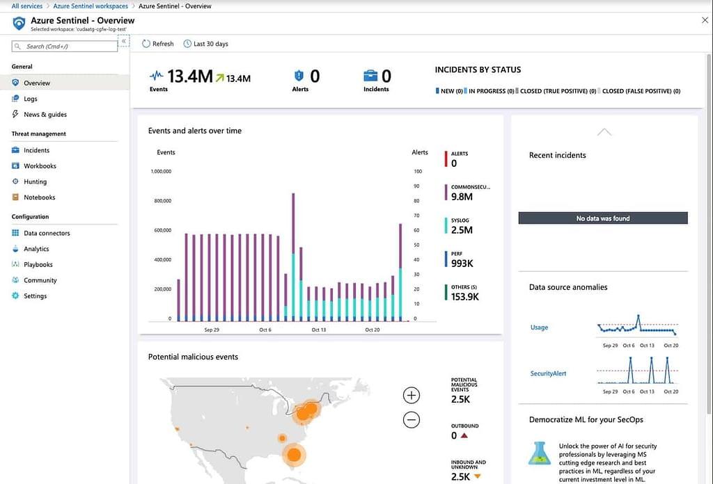Barracuda CloudGen FirewallがマイクロソフトのSIEM(セキュリティ情報イベント管理)ソリューションであるAzure Sentinelと統合 のページ写真 3