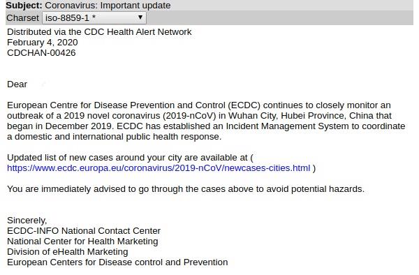 バラクーダが注目する脅威: コロナウィルス(COVID-19)関連のフィッシング(メールセキュリティ) のページ写真 6