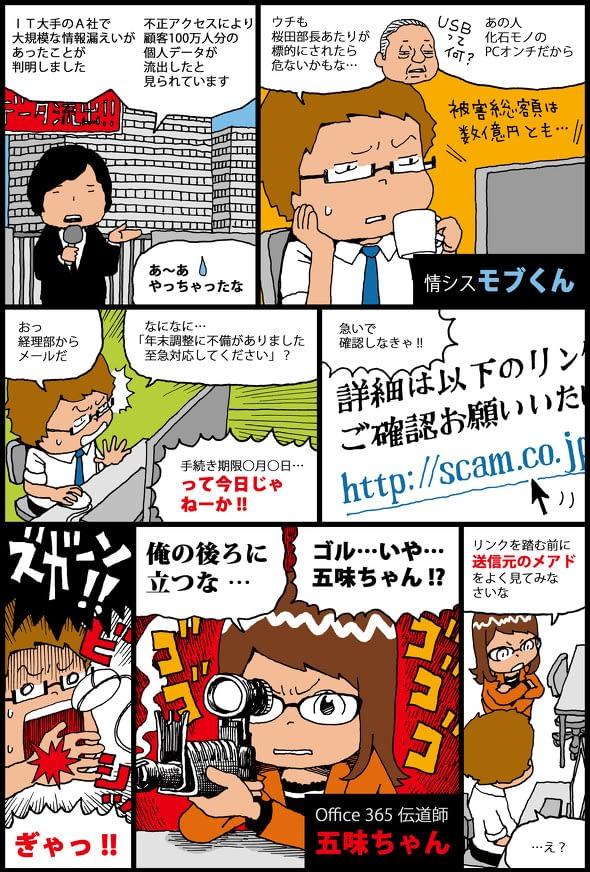 Office365伝道師五味ちゃん その1 のページ写真 1