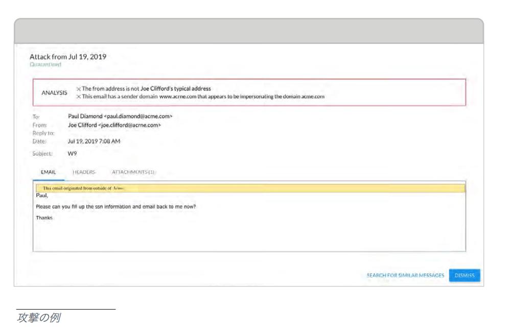 メールセキュリティ:2020年版メールの脅威と対策ガイダンス〜会話乗っ取りの例