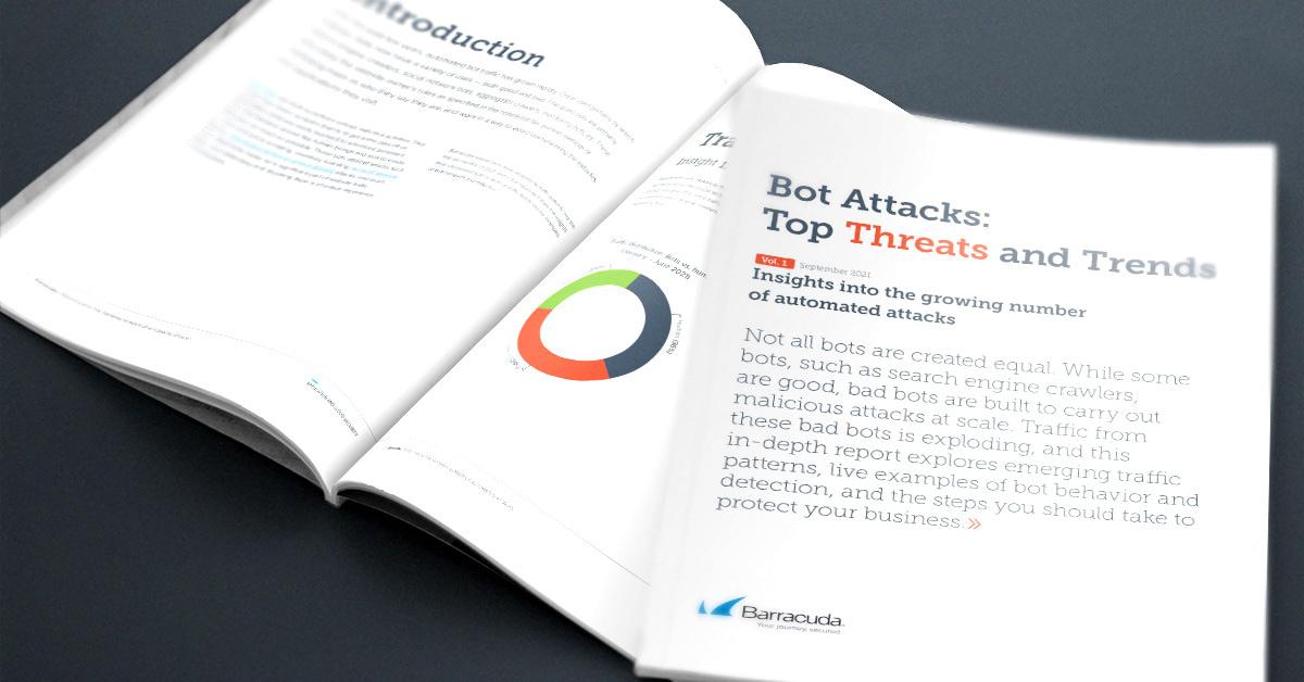 レポート: 増え続ける自動化された攻撃に関する洞察 のページ写真 1