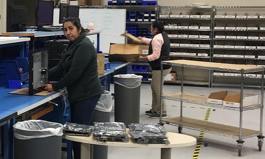 バラクーダの製造部門がどのように生産を継続しているか のページ写真 3