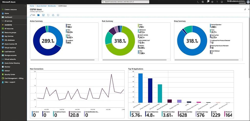 Barracuda CloudGen FirewallがマイクロソフトのSIEM(セキュリティ情報イベント管理)ソリューションであるAzure Sentinelと統合 のページ写真 4