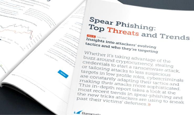 スピアフィッシングレポート:進化する攻撃者の戦術とターゲット のページ写真 10