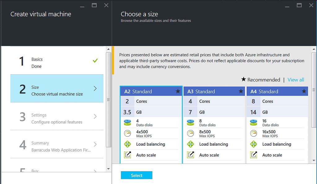 Azure Resource Managerモデルを使用したBarracuda CloudGen WAFの導入とプロビジョニング のページ写真 5