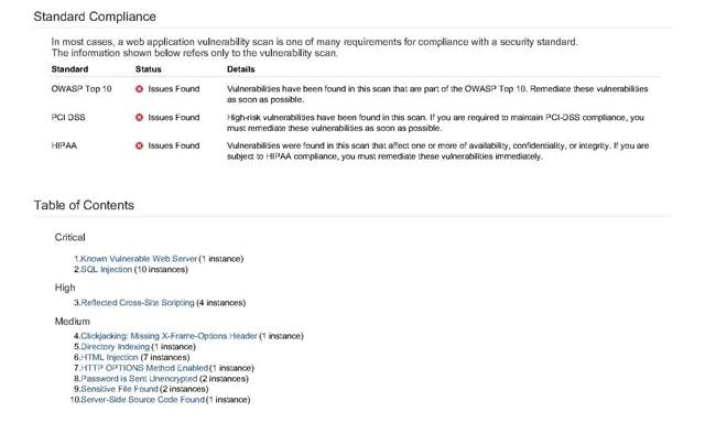 Vulnerability Manager(無料の脆弱性検査) のページ写真 4