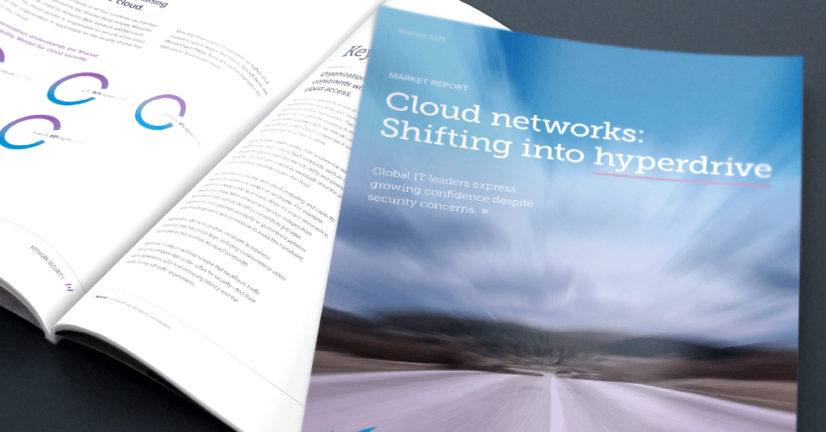 レポート: Cloud Networks: Shifting into hyperdrive のページ写真 1