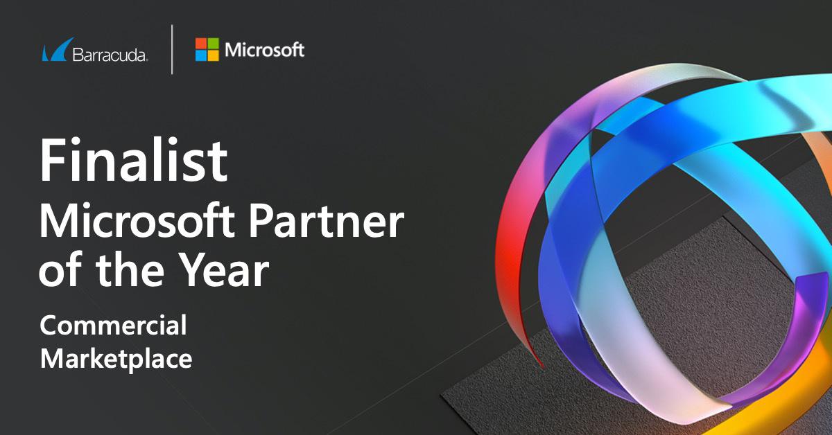 バラクーダが2020 Microsoft Partner of the Year AwardsのCommercial Marketplace部門のファイナリストにノミネート のページ写真 1